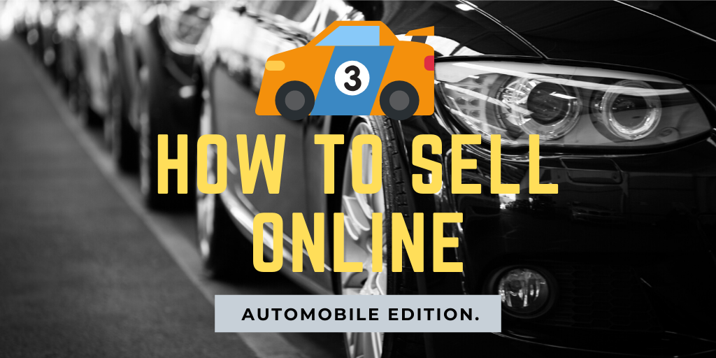 how to sell a car online